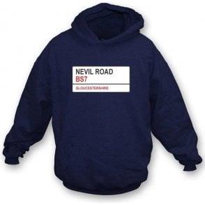 Nevil Road BS7 Hooded Sweatshirt (Gloucestershire)