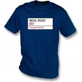 Nevil Road BS7 T-shirt (Gloucestershire)