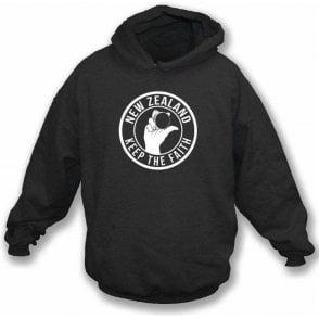 New Zealand Keep The Faith Hooded Sweatshirt