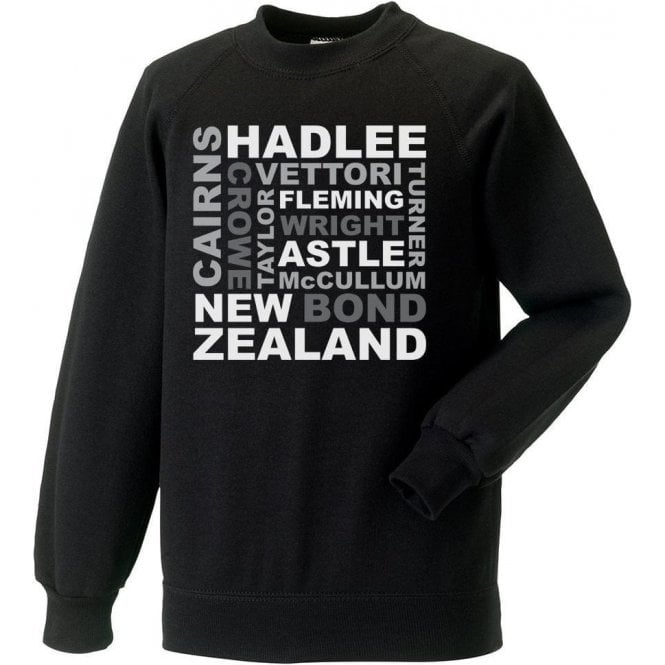New Zealand World Cup Legends Sweatshirt
