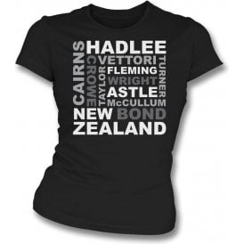 New Zealand World Cup Legends Womens Slim Fit T-Shirt