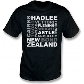 New Zealand World Cup Names Kids T-Shirt