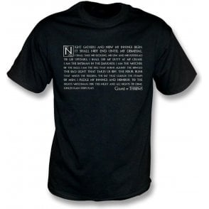 Night Gathers - Game Of Throws T-Shirt