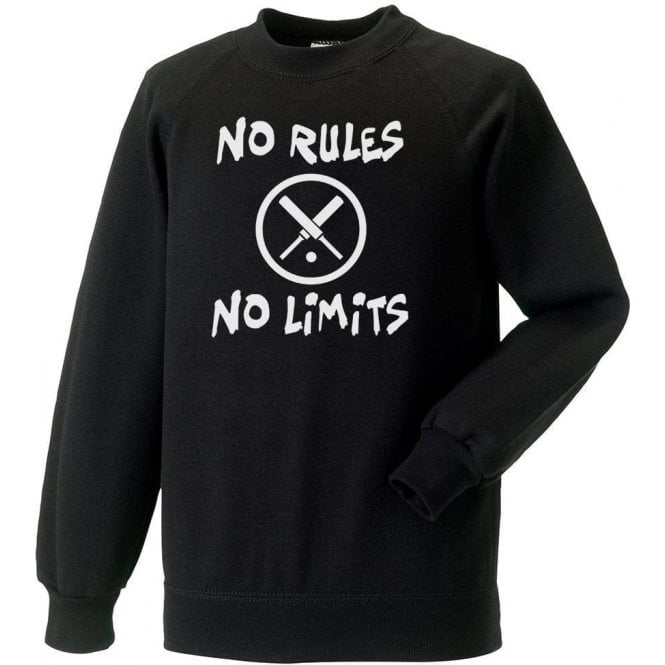 No Rules, No Limits Kids Sweatshirt