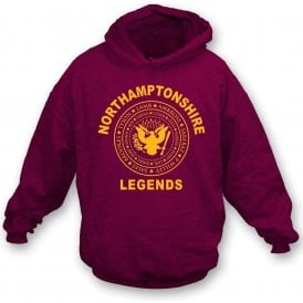 Northamptonshire Legends (Ramones Style) Kids Hooded Sweatshirt