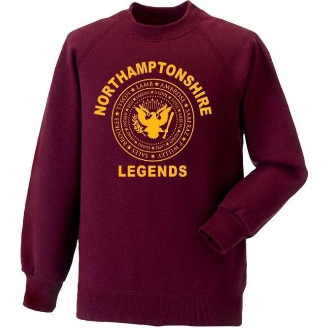 Northamptonshire Legends (Ramones Style) Sweatshirt