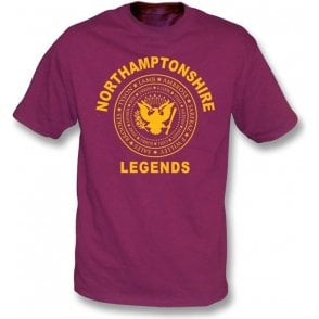 Northamptonshire Legends (Ramones Style) T-Shirt