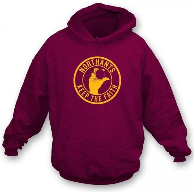 Northants Keep The Faith Hooded Sweatshirt