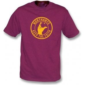 Northants Keep The Faith T-shirt