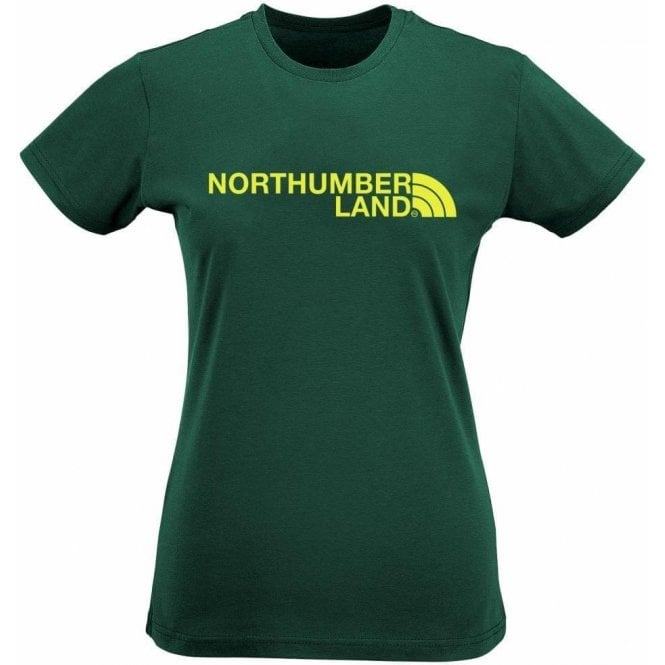 Northumberland Region Womens Slim Fit T-Shirt