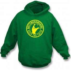 Nottinghamshire Keep The Faith Hooded Sweatshirt