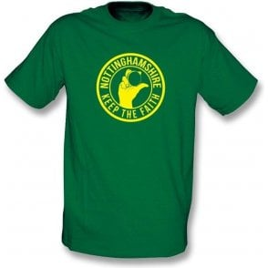 Nottinghamshire Keep The Faith T-shirt
