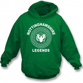 Nottinghamshire Legends (Ramones Style) Hooded Sweatshirt