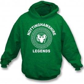 Nottinghamshire Legends (Ramones Style) Kids Hooded Sweatshirt