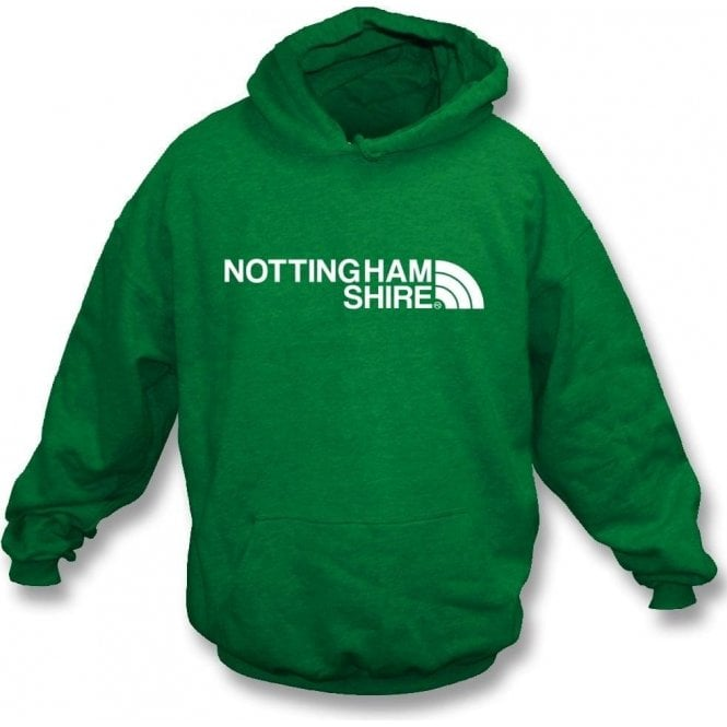 Nottinghamshire Region Kids Hooded Sweatshirt