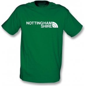 Nottinghamshire Region Kids T-Shirt