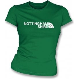 Nottinghamshire Region Womens Slim Fit T-Shirt