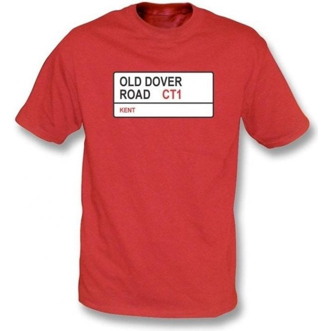 Old Dover Road CT1 T-shirt (Kent)