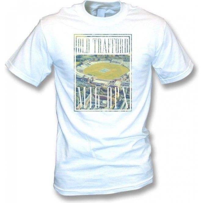 Old Trafford Overview (Lancashire) T-Shirt