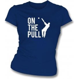 On The Pull Womens Slim Fit T-Shirt