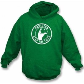 Pakistan Keep The Faith Hooded Sweatshirt
