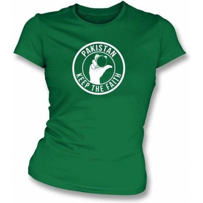 Pakistan Keep The Faith Women's Slimfit T-shirt