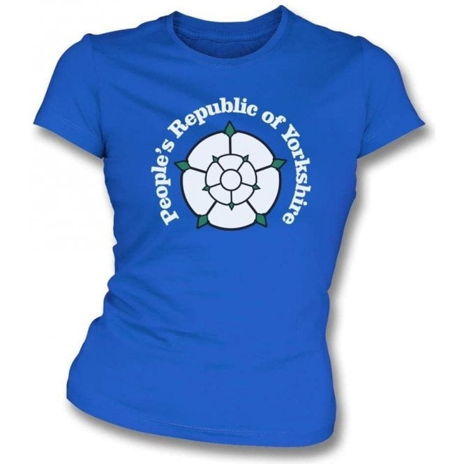 People's Republic Of Yorkshire Womens Slim Fit T-Shirt