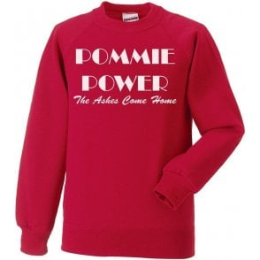 Pommie Power - The Ashes Come Home (As Worn By England Cricket Team) Sweatshirt