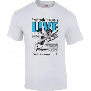 Prudential Trophy 1977 Retro Advert T-Shirt
