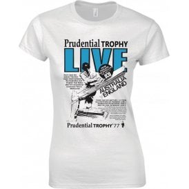 Prudential Trophy 1977 Retro Advert Womens Slim Fit T-Shirt