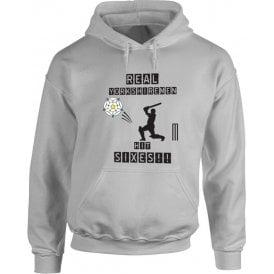 Real Yorkshiremen Hit Sixes! Hooded Sweatshirt
