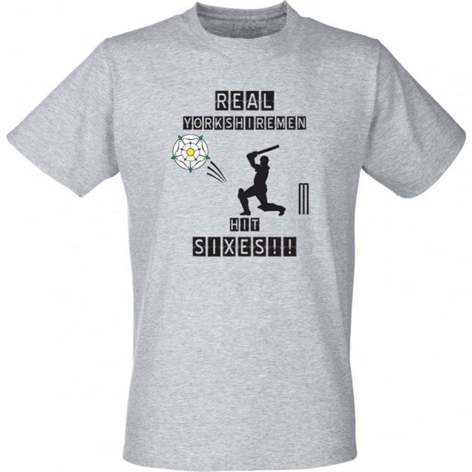 Real Yorkshiremen Hit Sixes! Kids T-Shirt