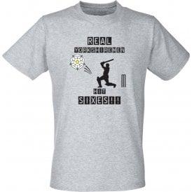 Real Yorkshiremen Hit Sixes! Kids T-Shirt