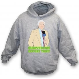 "Richie Benaud ""Marvellous Effort That!"" Kids Hooded Sweatshirt"