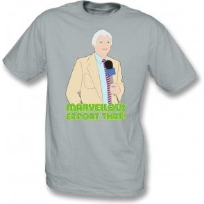 "Richie Benaud ""Marvellous Effort That!"" Kids T-Shirt"