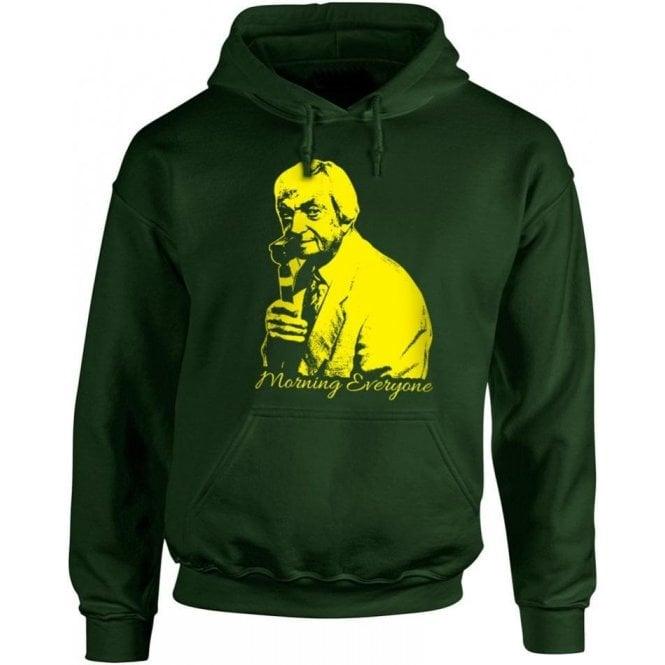 "Richie Benaud ""Morning Everyone"" Hooded Sweatshirt"
