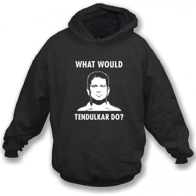 "Sachin Tendulkar ""What Would Tendulkar Do?"" Hooded Sweatshirt"