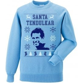 Santa Tendulkar Kids Christmas Jumper