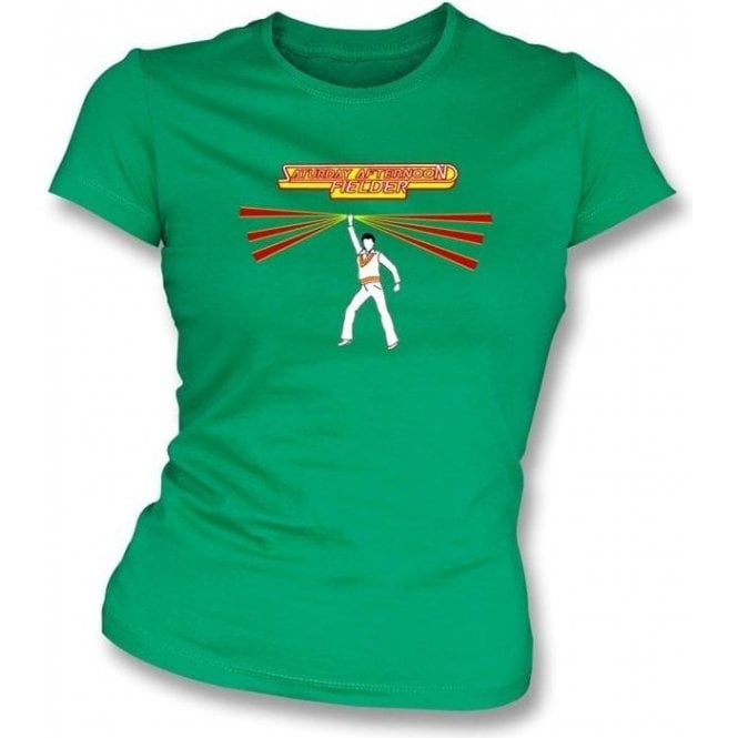 Saturday Afternoon Fielder Womens Slim Fit T-shirt