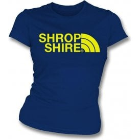Shropshire Region Womens Slim Fit T-Shirt