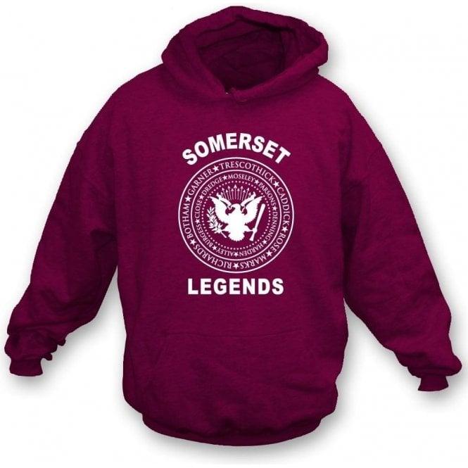 Somerset Legends (Ramones Style) Hooded Sweatshirt
