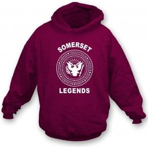 Somerset Legends (Ramones Style) Hooded Sweatshirt