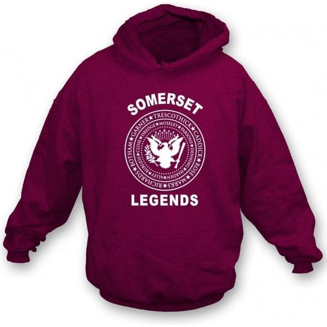 Somerset Legends (Ramones Style) Kids Hooded Sweatshirt