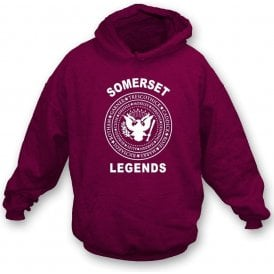 Somerset Legends (Ramones Style) Kids Hooded Sweatshirt