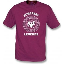 Somerset Legends (Ramones Style) Kids T-Shirt