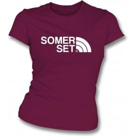 Somerset Region Womens Slim Fit T-Shirt