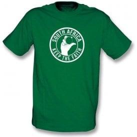 South Africa Keep The Faith T-shirt
