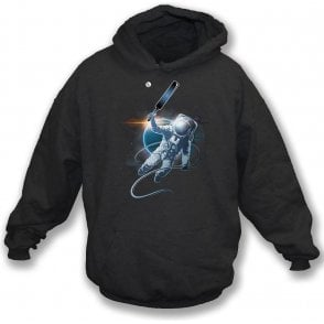 Space Cricket Hooded Sweatshirt