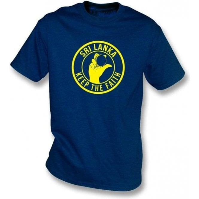 Sri Lanka Keep The Faith T-shirt