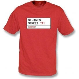 St. James Street TA1 T-shirt (Somerset)